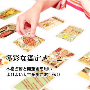 新宿・占い NOI CAEF鑑定メニュー
